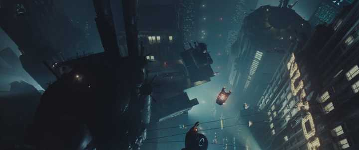 Blade Runner screenshot which is awesome