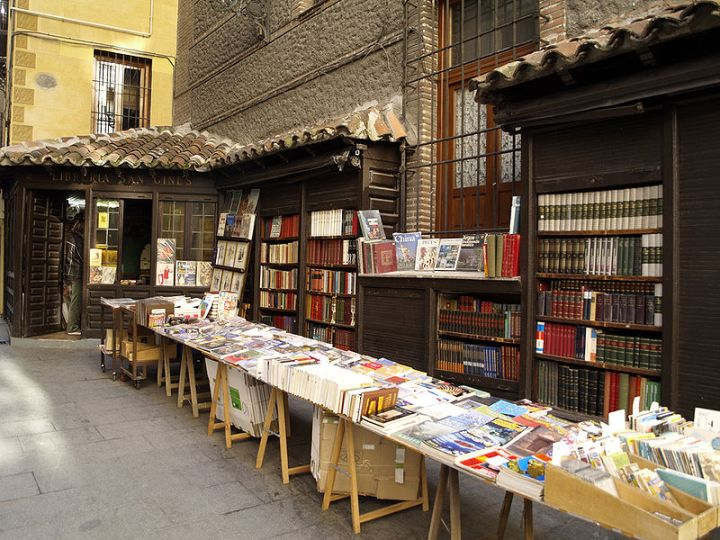 San Ginés bookshop in Madrid, Spain