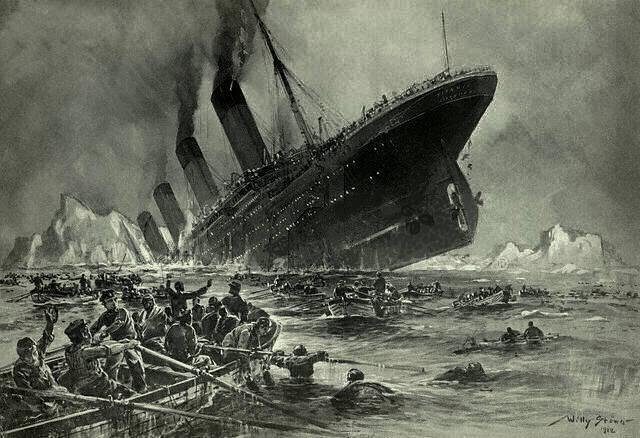 Titanic disaster - a real failure