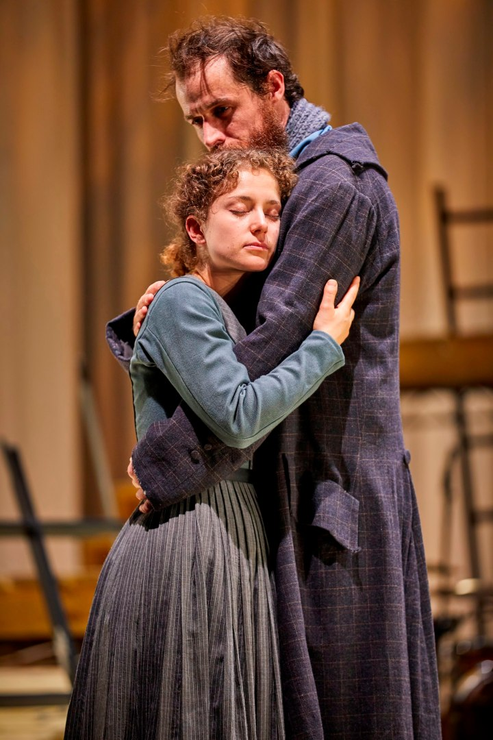 Nadia Clifford (Jane Eyre) Tim Delap (Rochester) Photo by BrinkhoffM+Âgenburg