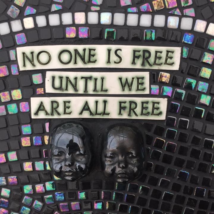 Zulu Voodoo Liberation tile message